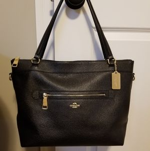 Coach pebble leather Tyler tote